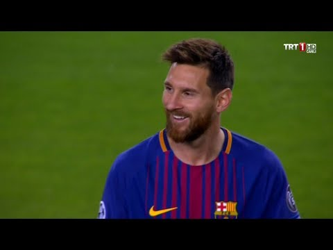 Lionel Messi vs Juventus (UCL) (Home) 2017-18 English Commentary HD 1080i