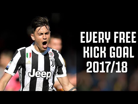 🎯🎯🎯 Every Juventus free kick goal of 2017/18! 🎯🎯🎯