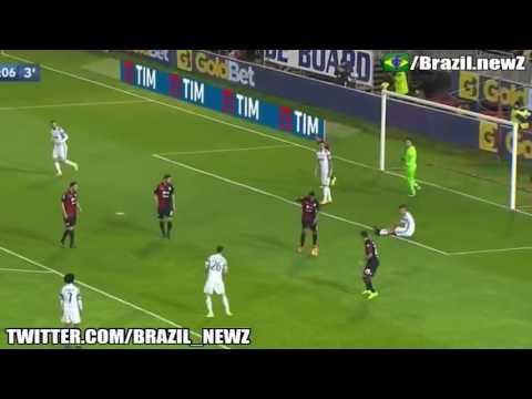 Rafael great save Vs Dybala – Cagliari vs Juventus – Serie A 2017