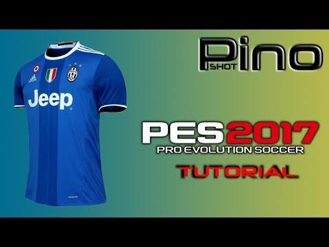 Edit Juventus FC Away Kit – PES 2017 Tutorial
