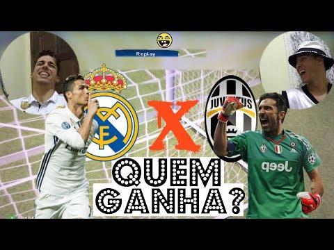 Real Madrid x Juventus – FINAL LIGA DOS CAMPEÕES 2017 (PES 2017) – CR7 vs Buffon – Quem Vence?