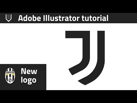 How to design new Juventus logo in Adobe Illustrator