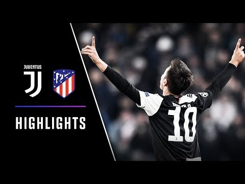 HIGHLIGHTS:  Juventus vs Atletico Madrid – 1-0 – OUTRAGEOUS DYBALA FREE-KICK! 💥🎯