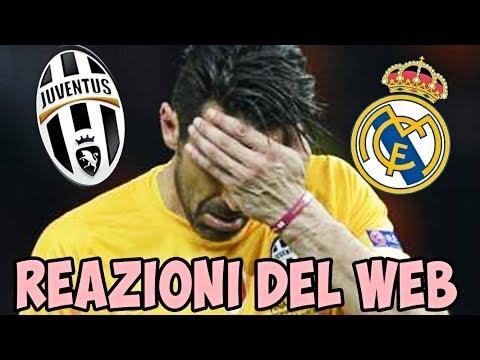 Juventus Real Madrid 1 – 4 JUVE PERDE LA FINALE DI CHAMPIONS! – La reazione ironica dei tifosi web