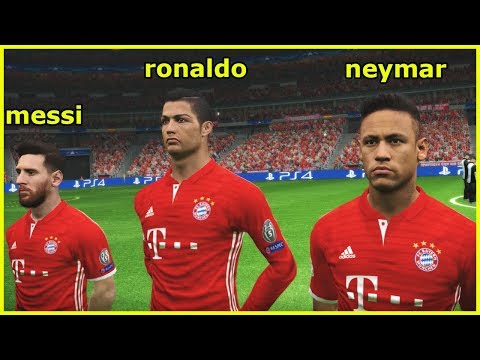 HOW BAYERN MUNICH COULD LINE UP WITH MESSI, RONALDO, NEYMAR ?