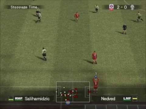 PES5 Juventus B versus Bayern Munich first team