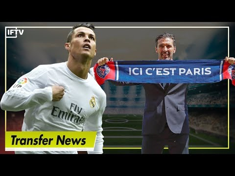 JUVE TO AGREE DEAL FOR RONALDO TOMORROW? & BUFFON SIGNS FOR PSG! | Serie A Transfer News
