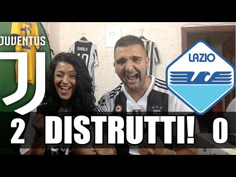 JUVENTUS 2-0 LAZIO REACTION TIFOSI JUVENTINI 25/08/2018 HD