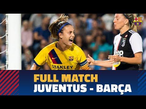 [FULL MATCH] UWCL: Juventus – FC Barcelona (0-2)