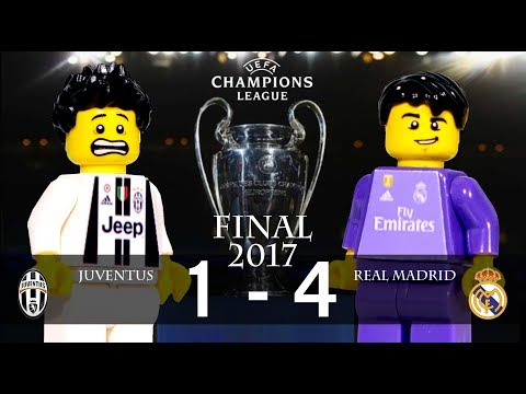 LEGO Champions League Final 2017 JUVENTUS – REAL MADRID
