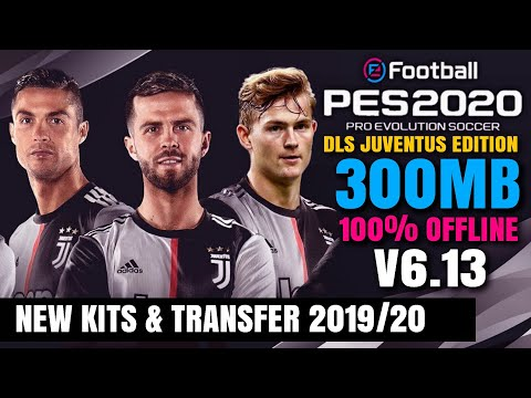 BARU !!! Dream League Soccer Mod Pes 2020 Juventus Edition | Download V6.13 Transfer & Kits 2019/20