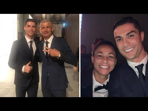 Cristiano Ronaldo at traditional Juventus Christmas Dinner 2019