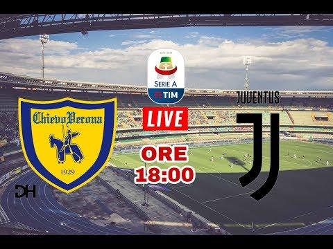 CHIEVO VERONA -JUVENTUS  18-08-2018 – Telecronaca live  streaming Serie A