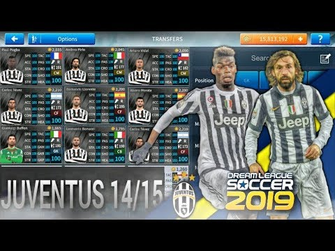 Cách có đội hình Juventus mùa 2014/2015•Tier 1•Squad Juventus 2015 By Phonvu