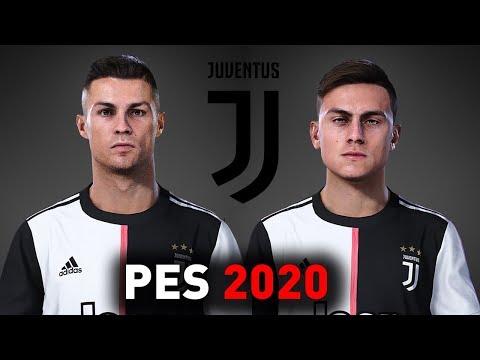 PES 2020 Juventus Players Faces