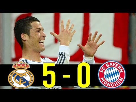 Guardiola's Most Humiliating Match – 13-14 Bayern Munich vs Real Madrid CL Semifinal Highlight