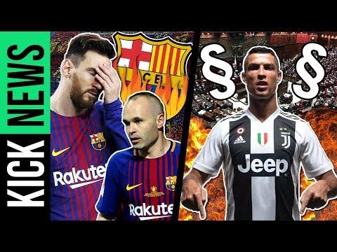 So verliert Barça seine Identität! Hat der Staat Juve beim Ronaldo-Deal geholfen? | KickNews