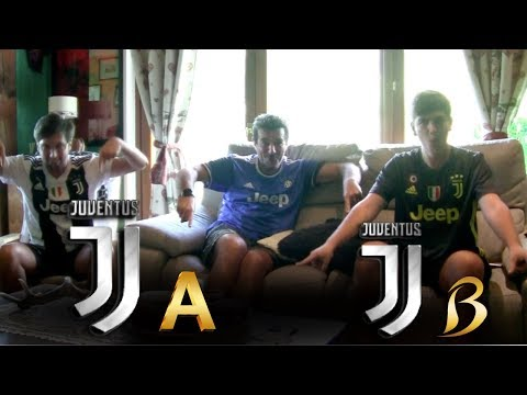 REACTION TIFOSI JUVENTINI al PRIMO GOL di RONALDO con la JUVENTUS!   Juventus A vs Juventus B 5-0 HD