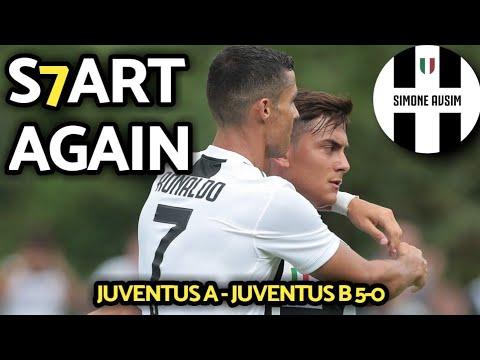 Spettacolo a Villar Perosa. Dybala vice-capitano     Juventus A-Juventus B 5-0