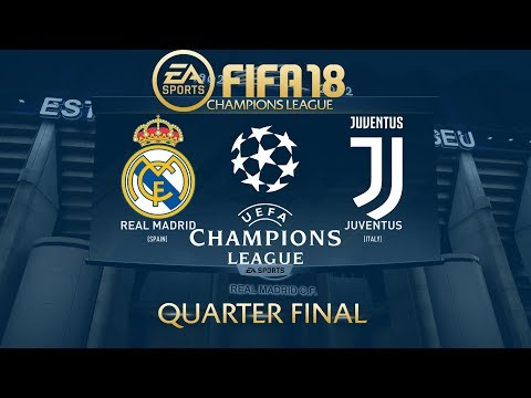 FIFA 18 Real Madrid vs Juventus | Champions League 2017/18 | PS4 Full Match