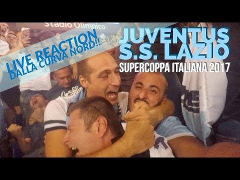 Juventus – Lazio [ LIVE REACTION dalla Curva nord!!! ] Che Bolgia al gol di Murgia!