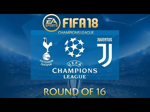FIFA 18 Tottenham vs Juventus | Champions League 2017/18 | PS4 Full Match