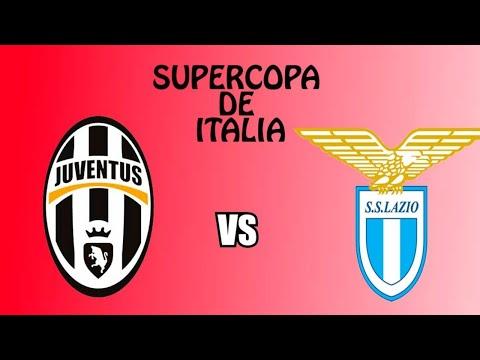 Juventos VS Lazio Ao Vivo (Final Da SuperCopa) Com Imagens