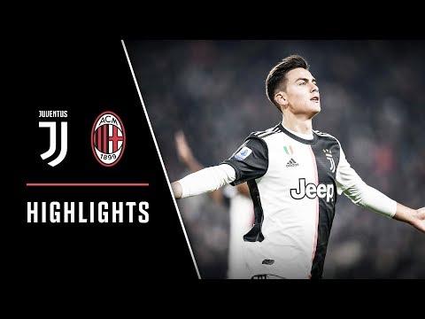 HIGHLIGHTS: Juventus vs AC Milan – 1-0 – Dybala scores the deciding goal!