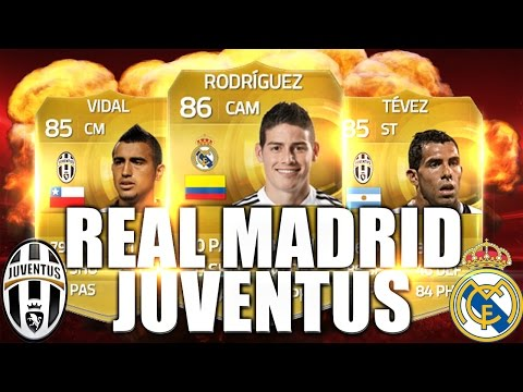 INSANE CHAMPIONS LEAGUE HYBRID w/ Real Madrid and Juventus – Squad Builder – FIFA 15