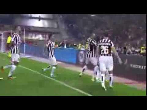 Juventus 4-0 Lazio ★ Supercoppa Italiana 2013   Pogba-Chiellini-Lichtsteiner-Tevez  