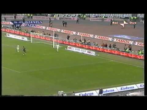 Juventus-Lazio 2-2 (andata 0-2) Coppa Italia finale ritorno 2003-2004 partita intera 2°tempo