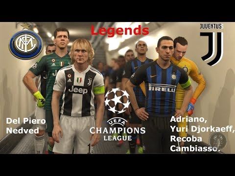 "Inter Vs Juventus Champions League ""Legends"" 