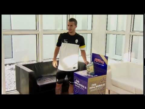 Juventus players vote for FIFA FIFPro World XI 2012