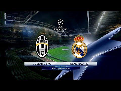 PES 2017 JUVENTUS F.C. VS. REAL MADRID C.F. UEFA CHAMPIONS LEAGUE FINAL MATCH HIGHLIGHTS & PENALTIES