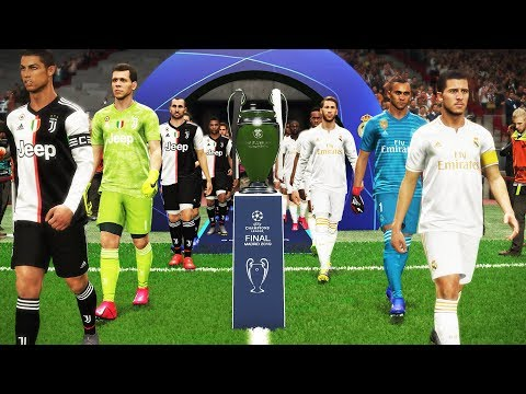 Real Madrid vs Juventus – Final UEFA Champions League UCL – Penalty Shootout – PES 2019