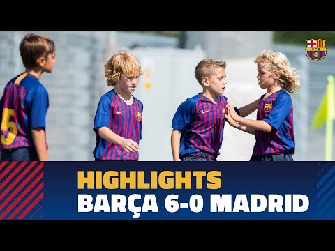 [HIGHLIGHTS] Barça U10 A 6-0 Real Madrid