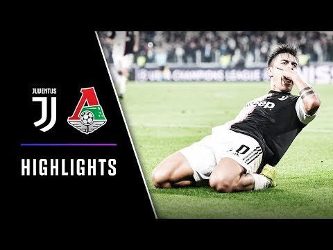 HIGHLIGHTS: Juventus vs Lokomotiv Moscow – 2-1 – Dybala's double completes UCL turnaround!