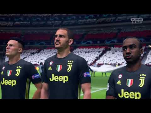 E:96 6/1/19 – UEFA Champions League Finals – Juventus v. FC Bayern – Lineups – FIFA 19