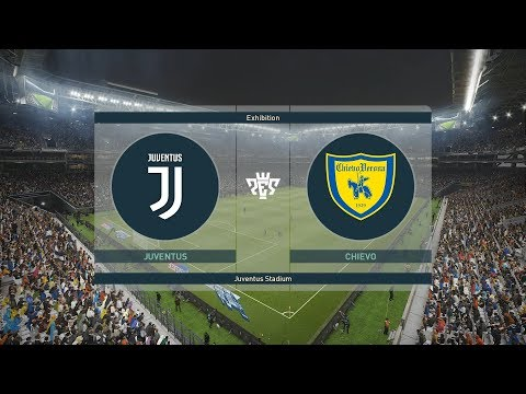 Juventus VS Chievo Verona Serie A Full Match & Goals PES 2019
