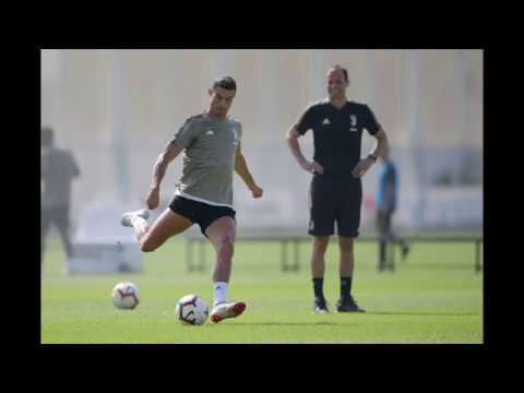 Cristiano Ronaldo's Juve prepares for the match vs Chievo