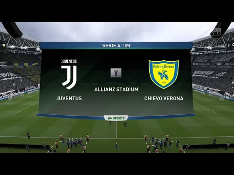 FIFA 19 JUVENTUS VS CHIEVO VERONA @ THE ALLIANZ ARENA