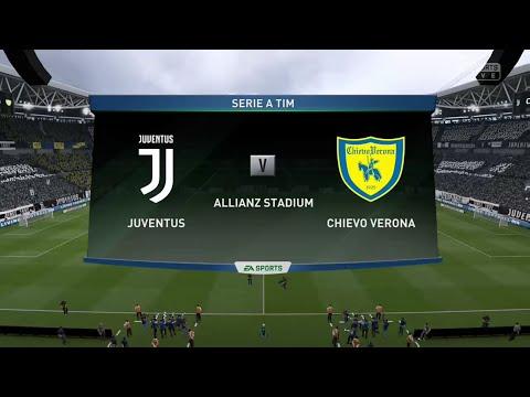 FIFA 19 JUVENTUS VS CHIEVO VERONA @ THE ALLIANZ ARENA