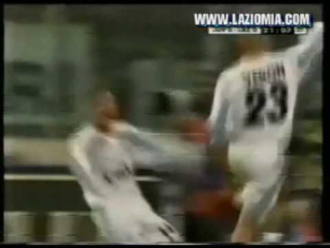 Simeone : Juventus-Lazio 0-1 (01/04/2000) con la Radiocronaca di Guido De Angelis !