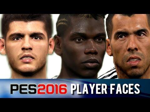 PES 2016 | Player Faces – Juventus
