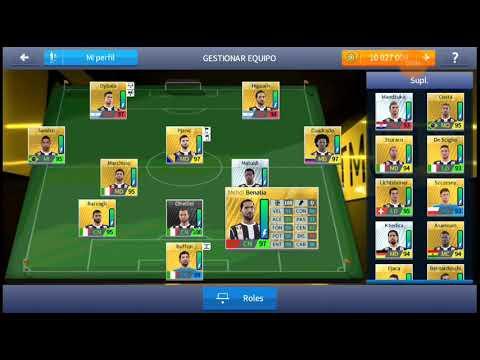 Plantilla De La Juventus 2017/18 Para Dream League Soccer 2019