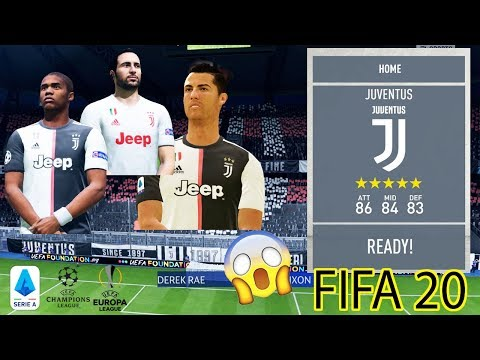 FIFA 20 PATCH | FULL LICENSED PATCH JUVENTUS (Badge,Logo,Banner And More)