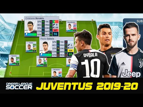 How To Create Juventus 2019/20 Team, Kits & Logo in Dream League Soccer
