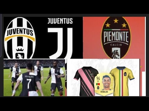 FIFA 20 JUVENTUS NAME CHANGED TO PIEMONTE CALCIO