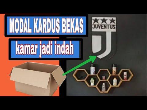 Cara mudah membuat logo Juventus keren dari kardus