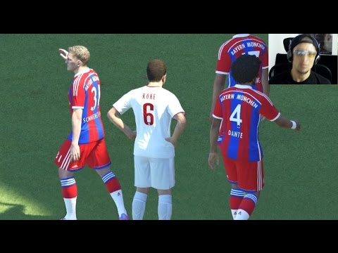 PES 2015 Demo PS4 Gameplay – FC Bayern Munich Vs Atlético de Madrid